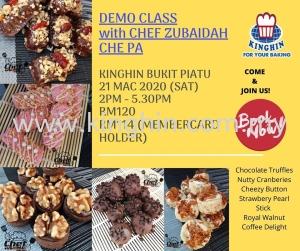 Demo Class with Chef Zubaidah