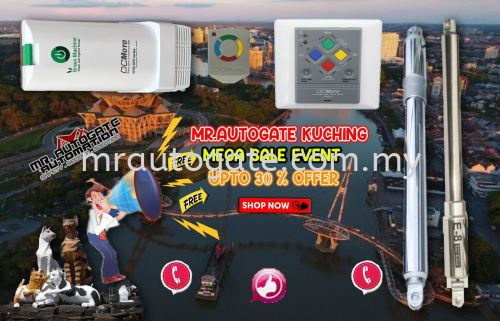 🎉MR.AUTOGATEC KUCHING MEGA SALES EVENT UPGRADE VERSION 🎉