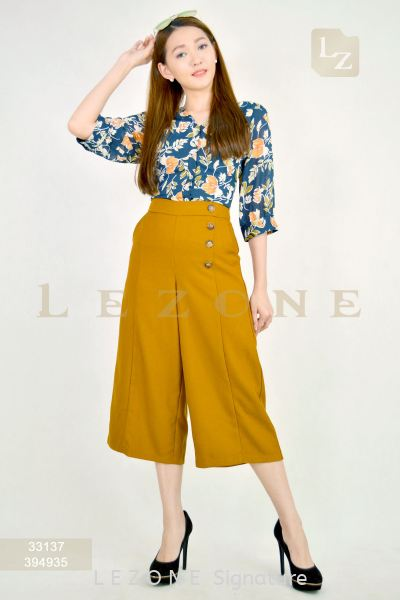394935 BUTTON CULOTTES ¡¾2ND 50%¡¿ 3/4 Culottes B O T T O M Selangor, Kuala Lumpur (KL), Malaysia, Serdang, Puchong Supplier, Suppliers, Supply, Supplies | LE ZONE Signature