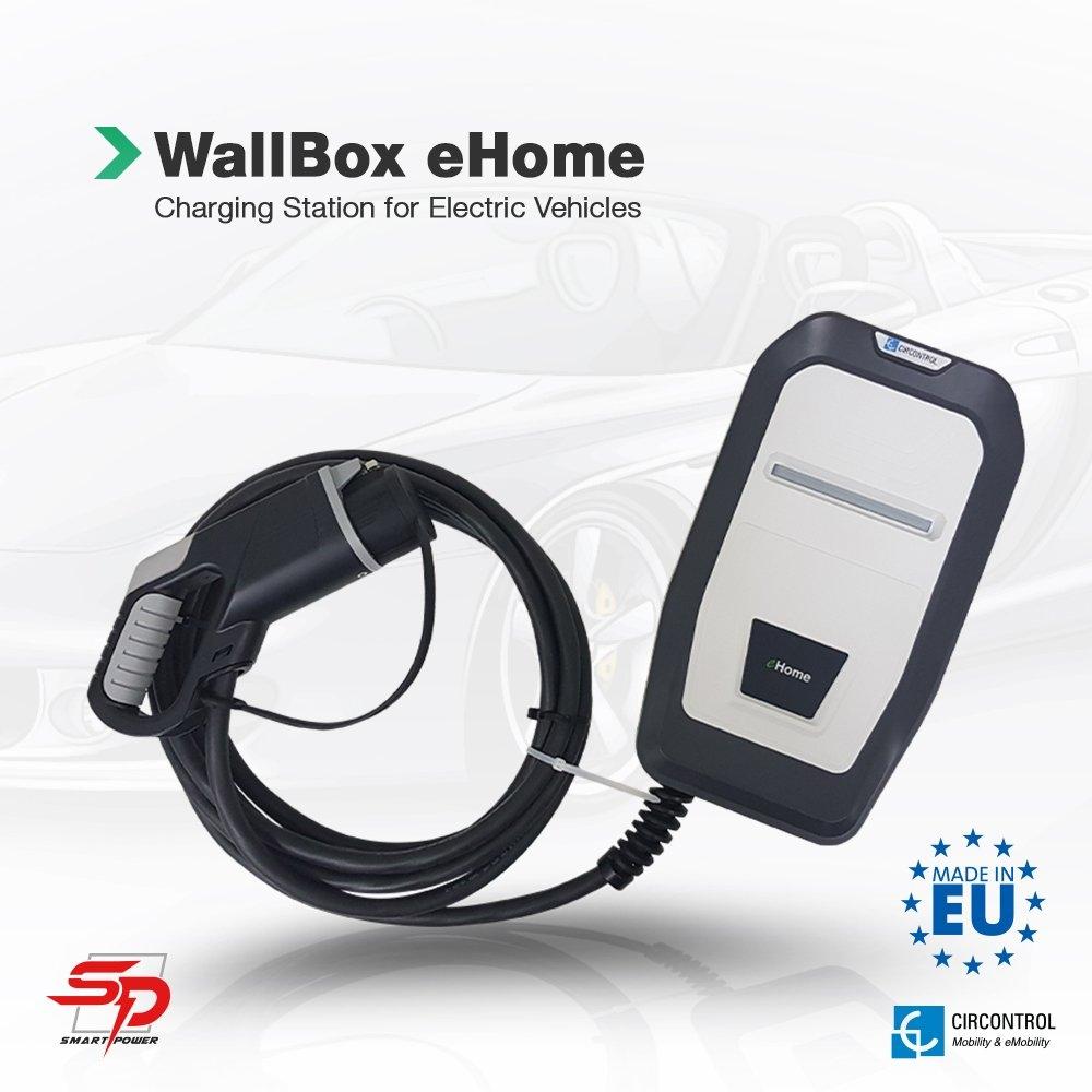 WallBox eHome WallBox CIRCONTROL Electric Vehicle Charger Johor Bahru (JB), Malaysia, Kuala Lumpur (KL), Singapore, Penang System, Solutions, Supplier, Supply | Saturn Pyro Sdn Bhd