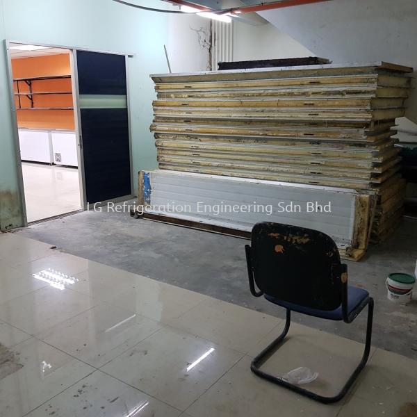 Cold Room Relocation Kuala Lumpur (KL), Malaysia, Selangor, Damansara Service, Supplier, Supply, Installation | LG Refrigeration Sdn Bhd