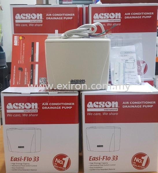 ACSON AIR CONDITIONER DRAINAGE PUMP EASI-FLO 33 ACSON Tool & Accessories Selangor, Malaysia, Kuala Lumpur (KL), Puchong Supplier, Suppliers, Supply, Supplies   Exiron Parts Supply Sdn Bhd