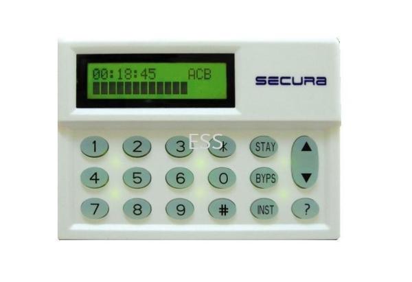 Secura 12-Zone Tone Alarm Burglar Alarm System Perak, Ipoh, Malaysia Installation, Supplier, Supply, Supplies | Exces Sales & Services Sdn Bhd
