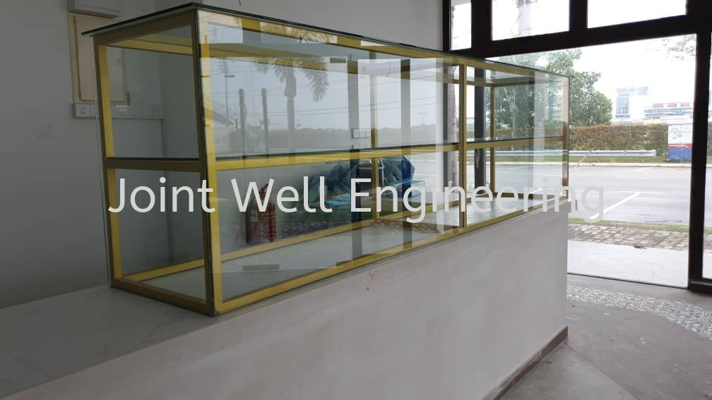 Food Storage Glass Cabine Frame Steel And Glass Others Product  Johor Bahru (JB), Johor Installation, Supplier, Supplies, Supply | Joint Well Engineering