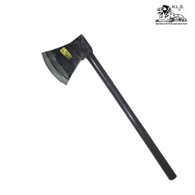 KLS Axe with Handle Flat Curve