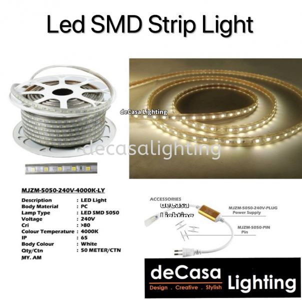 Led Strip Light LED STRIP LIGHT Selangor, Kuala Lumpur (KL), Puchong, Malaysia Supplier, Suppliers, Supply, Supplies | Decasa Lighting Sdn Bhd