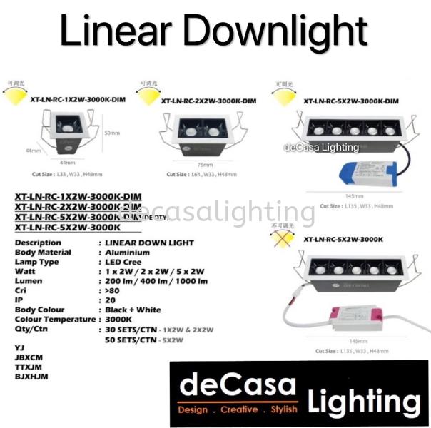 Linear Downlight / Eyeball Eyeball DOWNLIGHT Selangor, Kuala Lumpur (KL), Puchong, Malaysia Supplier, Suppliers, Supply, Supplies   Decasa Lighting Sdn Bhd