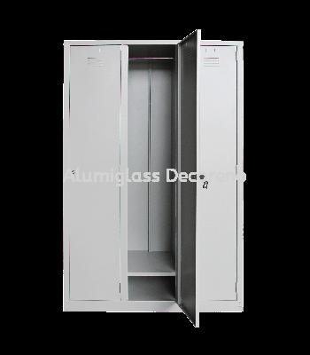 3 compartments steel locker Multiple Locker Office Steel Furniture Selangor, Klang, Kuala Lumpur (KL), Malaysia Supplier, Suppliers, Supply, Supplies | Alumiglass Decoreno Sdn Bhd