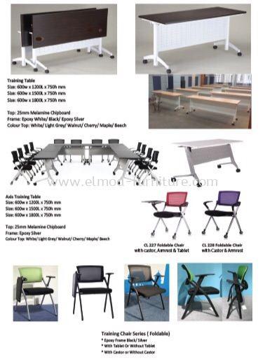 Foldable & Moveable  Training Table  Selangor, Kuala Lumpur (KL), Puchong, Malaysia Supplier, Suppliers, Supply, Supplies   Elmod Online Sdn Bhd
