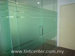 Frosted Film Frosted Film Commercial Tinted Melaka, Malaysia, Malim Jaya Supplier, Installation, Supply, Supplies   Tint Center