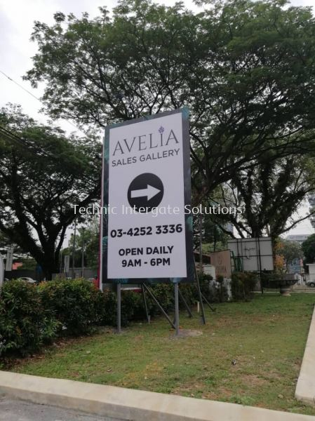 Sign Board  Outdoor Signage Kuala Lumpur (KL), Malaysia, Selangor, Mont Kiara Manufacturer, Supplier, Supply, Supplies | Intergate Solutions Sdn Bhd