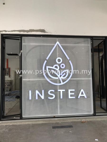 Stainless Steel mirror box up led font lit Others Selangor, Malaysia, Kuala Lumpur (KL), Puchong Manufacturer, Maker, Supplier, Supply | PS Power Signs Sdn Bhd