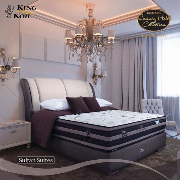 Sultan Suites King Koil Bedding Selangor, Malaysia, Kuala Lumpur (KL), Puchong, Shah Alam Supplier, Suppliers, Supply, Supplies | Mitaly Urban Living