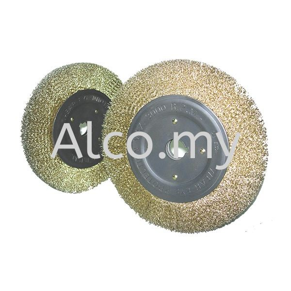 Steel Wire Wheel Brushes Brushes Selangor, Malaysia, Kuala Lumpur (KL), Bangi Supplier, Suppliers, Supply, Supplies | Alco Ventures Sdn Bhd