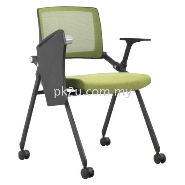 FTC-07-T4-R-L1 - Training Chair Fabric Student & Training Chair Training & Study Chair Education Furniture Johor Bahru, JB, Malaysia Manufacturer, Supplier, Supply | PK Furniture System Sdn Bhd