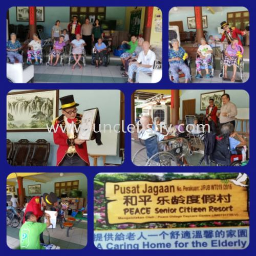 Charity Social Care Project at Pusat Jagaan PEACE Senior Citizen Resort