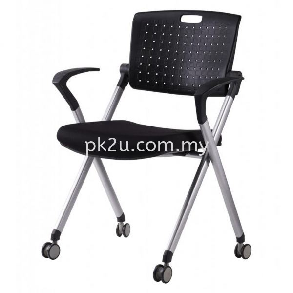 FTC-09-C1 - Study Chair Fabric Student & Training Chair Training & Study Chair Education Furniture Johor Bahru, JB, Malaysia Manufacturer, Supplier, Supply | PK Furniture System Sdn Bhd