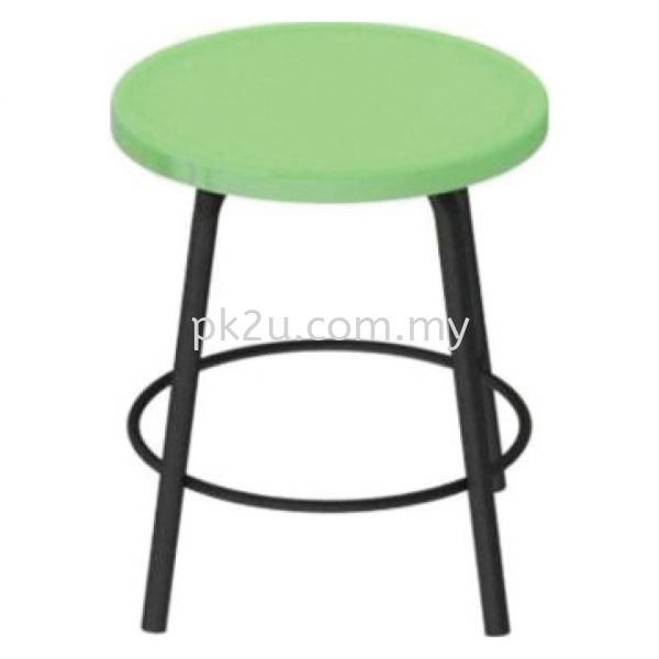 FRP-KC3 - FRP Low Stool Pantry Chair Canteen Furniture Johor Bahru, JB, Malaysia Manufacturer, Supplier, Supply | PK Furniture System Sdn Bhd