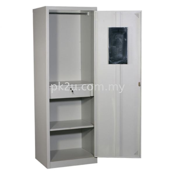 MFHW-1 - SIngle Swing Door Full Height Wardrobe Wardrobe Hostel Furniture Johor Bahru, JB, Malaysia Manufacturer, Supplier, Supply | PK Furniture System Sdn Bhd