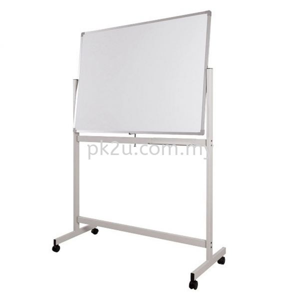 Mobile Double Sided White Board Writing Boards Office Equipment Johor Bahru, JB, Malaysia Manufacturer, Supplier, Supply | PK Furniture System Sdn Bhd