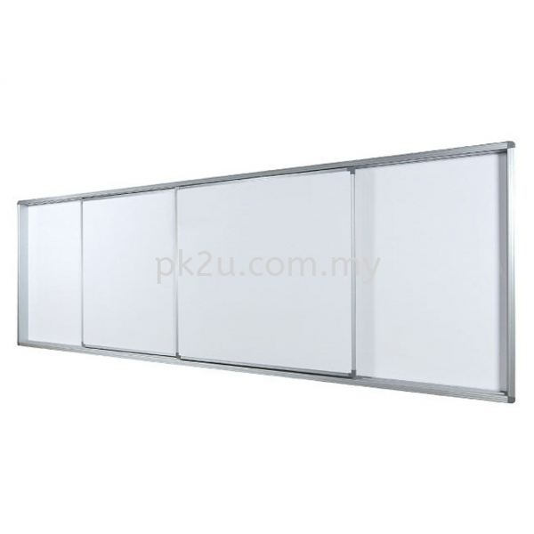 Sliding Board System Writing Boards Office Equipment Johor Bahru, JB, Malaysia Manufacturer, Supplier, Supply   PK Furniture System Sdn Bhd