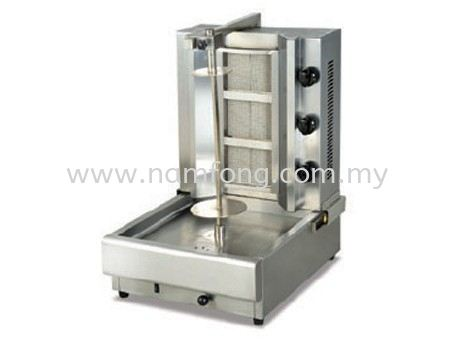 D38 Gas Doner Kebab Machine Bar & Snack Equipment Malaysia, Kuala Lumpur (KL), Selangor Manufacturer, Supplier, Supply, Supplies | NAM FONG STAINLESS STEEL ENGINEERING SDN BHD