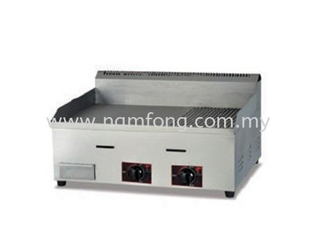 D44 Gas Griddle(Half Flat & Half Grooved) Bar & Snack Equipment Malaysia, Kuala Lumpur (KL), Selangor Manufacturer, Supplier, Supply, Supplies | NAM FONG STAINLESS STEEL ENGINEERING SDN BHD