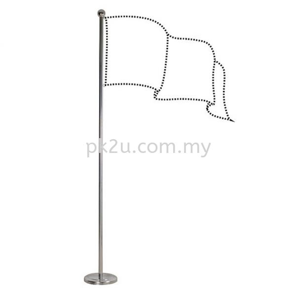 Indoor Flag Pole Exhibition Equipments Office Equipment Johor Bahru, JB, Malaysia Manufacturer, Supplier, Supply | PK Furniture System Sdn Bhd