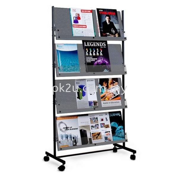 Deluxe Magazine Rack Magazine Racks Office Equipment Johor Bahru, JB, Malaysia Manufacturer, Supplier, Supply | PK Furniture System Sdn Bhd