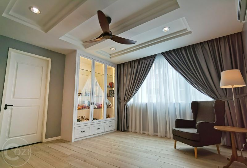 Semi-D renovation work Family Area Interior Design (residential) Penang, Malaysia, Butterworth Design, Renovation, Contractor, Services | Cozi Design Sdn Bhd