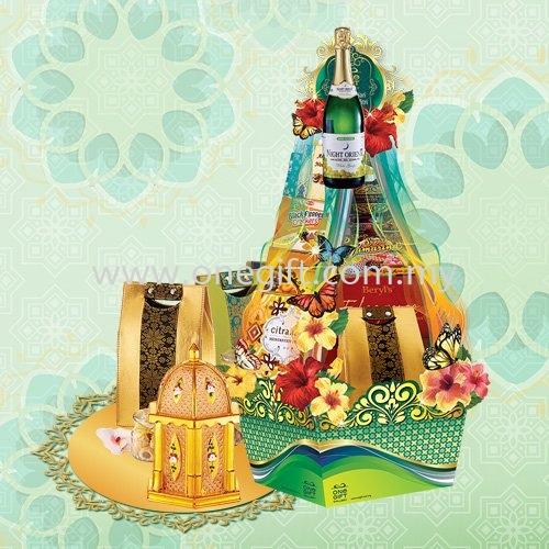B93 Hari Raya Hamper-Pyramid Series Hari Raya Hamper Malaysia, Selangor, Kuala Lumpur (KL), Shah Alam Supplier, Suppliers, Supply, Supplies | The One Gift Gallery Sdn Bhd