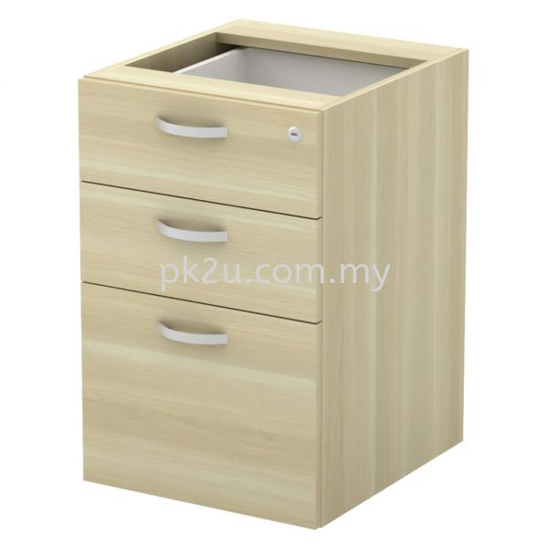 SC-YP-3 - Fixed Pedestal 2D1F (W/O Top And Base) Combination Cabinet (750mm Height) Filing & Storage Johor Bahru, JB, Malaysia Manufacturer, Supplier, Supply | PK Furniture System Sdn Bhd