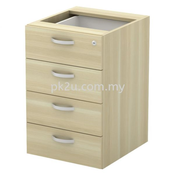 SC-YP-4 - Fixed Pedestal 4D (W/O Top And Base) Combination Cabinet (750mm Height) Filing & Storage Johor Bahru, JB, Malaysia Manufacturer, Supplier, Supply | PK Furniture System Sdn Bhd