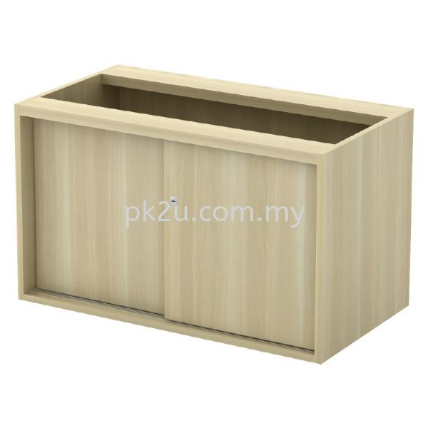 SC-YS-848 - Sliding Door Side Cabinet (WO Top And Base) Side Cabinet (600mm Height) Filing & Storage Johor Bahru, JB, Malaysia Manufacturer, Supplier, Supply | PK Furniture System Sdn Bhd