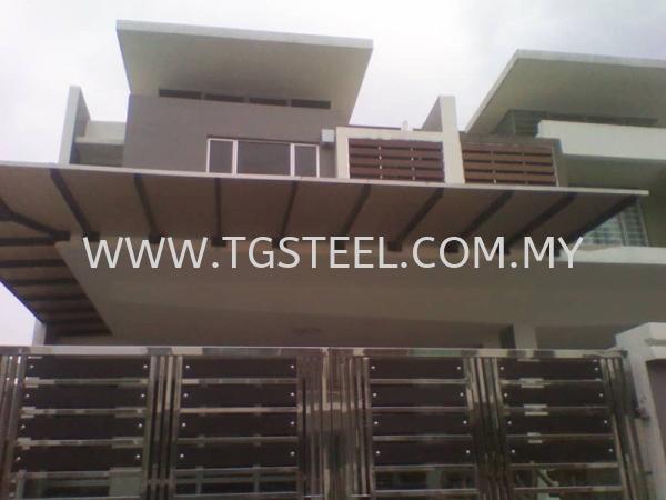 Awning Kuala Lumpur (KL), Malaysia, Selangor, Cheras Supplier, Installation, Supply, Supplies | TG Steel Design & Engineering