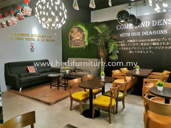 Cafe Design Commercial Design Johor Bahru (JB), Malaysia, Skudai Service, Supplier, Supply, Supplies | Her Li Furniture And Renovation (M) Sdn Bhd