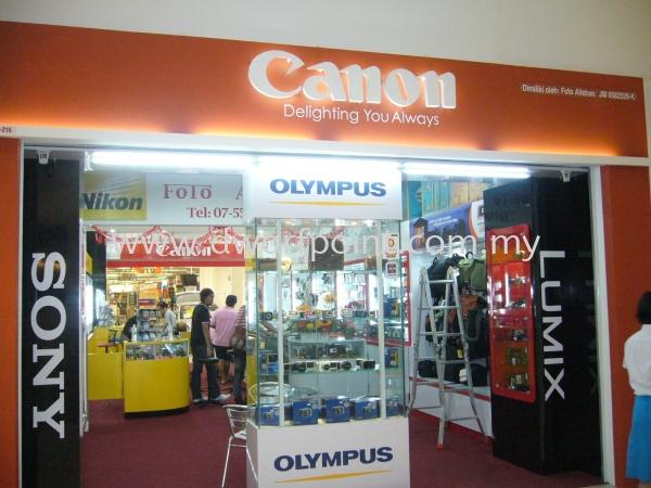 Backlit Letters Signboard Johor Bahru (JB), Malaysia, Mount Austin, Desa Jaya Supplier, Manufacturer, Supply, Supplies | Dwarf Point Sdn Bhd