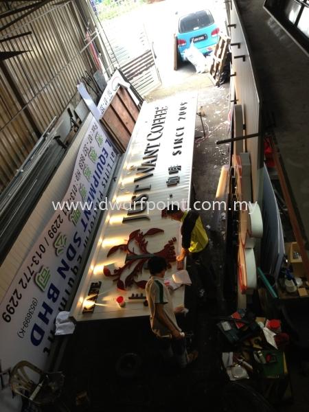 Metal Ceiling with Solid Foamboard Letters Metal Johor Bahru (JB), Malaysia, Mount Austin, Desa Jaya Supplier, Manufacturer, Supply, Supplies | Dwarf Point Sdn Bhd