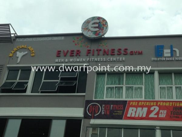 Rooftop Logo Sign Signage Johor Bahru (JB), Malaysia, Mount Austin, Desa Jaya Supplier, Manufacturer, Supply, Supplies | Dwarf Point Sdn Bhd
