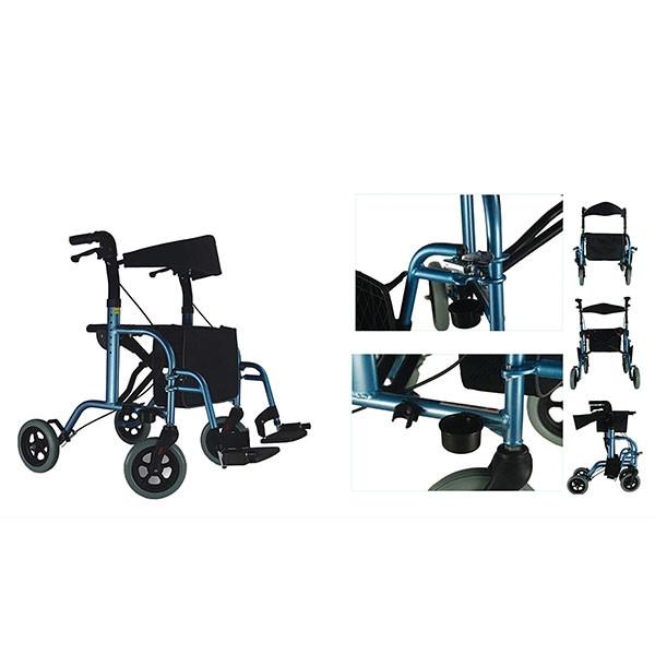 MO 9103 Aluminium Rollator Mobility Equipment Selangor, Malaysia, Kuala Lumpur (KL), Batu Caves Supplier, Suppliers, Supply, Supplies | Behealth Medical Supplies
