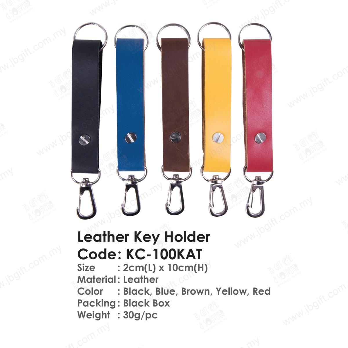 Leather Key Holder KC-100KAT Key Chain Johor Bahru (JB), Malaysia Supplier, Suppliers, Supply, Supplies   JB GIFT & SOUVENIR (M) SDN BHD