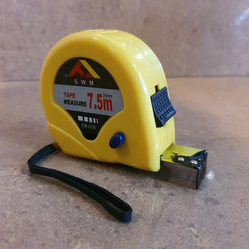 SWM 7.5m/25FT Measuring Tape-3 Button (Rm10.00/2pcs) ID550075