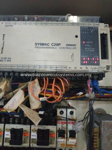 omron sysmac c23p plc repair, trouble shooting and program Omron PLC complete series PLC trouble shooting PLC Systems Kuala Lumpur (KL), Malaysia, Selangor, Kepong Repair, Service, Maintenance | Micro Control Systems (M) Sdn Bhd