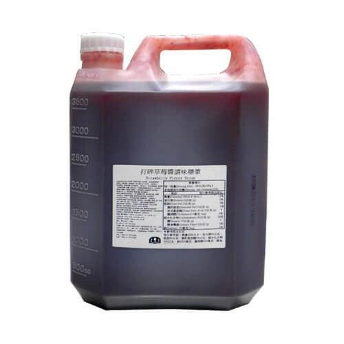 STRAWBERRY CONC.SYRUP 5.0KG (I)