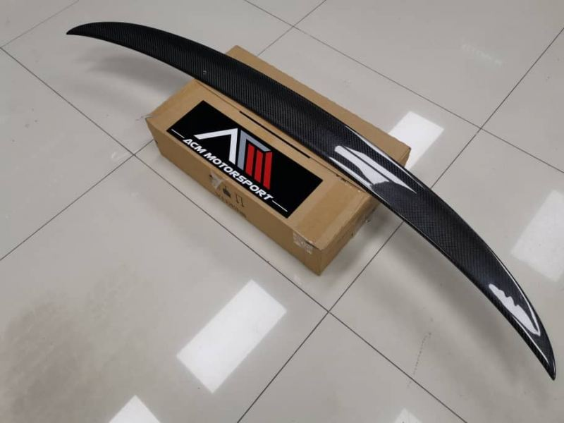 BMW 5 Series G30 Carbon M Performance Look Spoiler 5 Series G30 BMW Balakong, Selangor, Kuala Lumpur, KL, Malaysia. Body Kits, Accessories, Supplier, Supply | ACM Motorsport