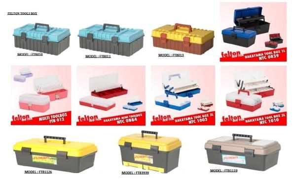 FELTON Toolbox A TACKLE BOX Selangor, Malaysia, Kuala Lumpur (KL), Klang Fishing, Supplier, Supply, Supplies | Kesan Kenangan Sdn Bhd