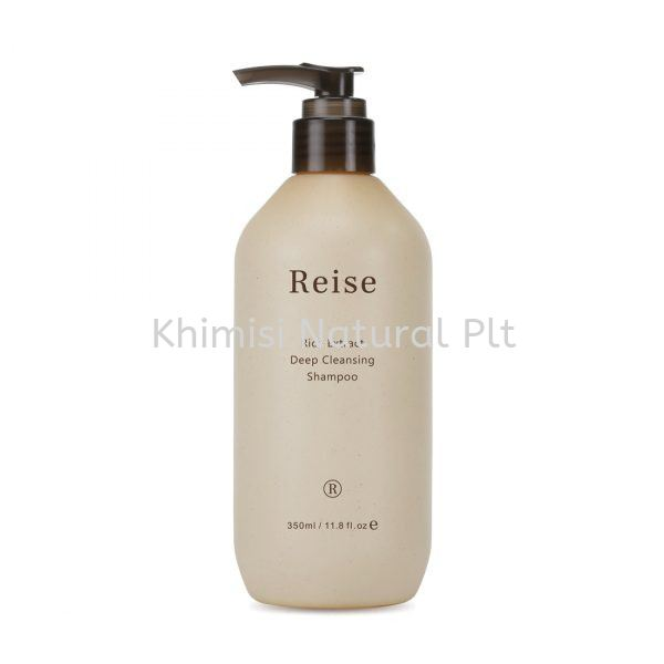 Rice Extract Deep Cleansing Shampoo Shampoo Reise Penang, Malaysia, Bukit Mertajam Supplier, Suppliers, Supply, Supplies | KHIMISI NATURAL PLT