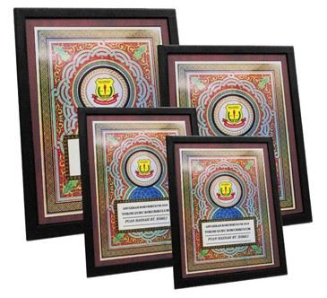 4276 Wooden Plaques (N)