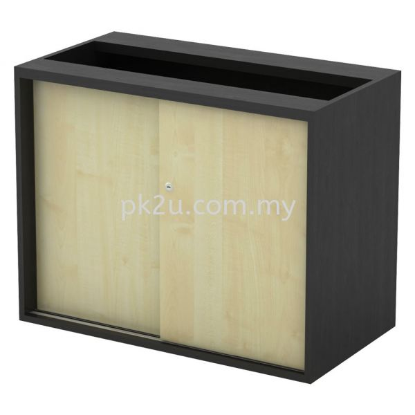 SC-YS-963 - Sliding Door Low Cabinet (W/O Top And Base) Combination Cabinet (750mm Height) Filing & Storage Johor Bahru, JB, Malaysia Manufacturer, Supplier, Supply | PK Furniture System Sdn Bhd