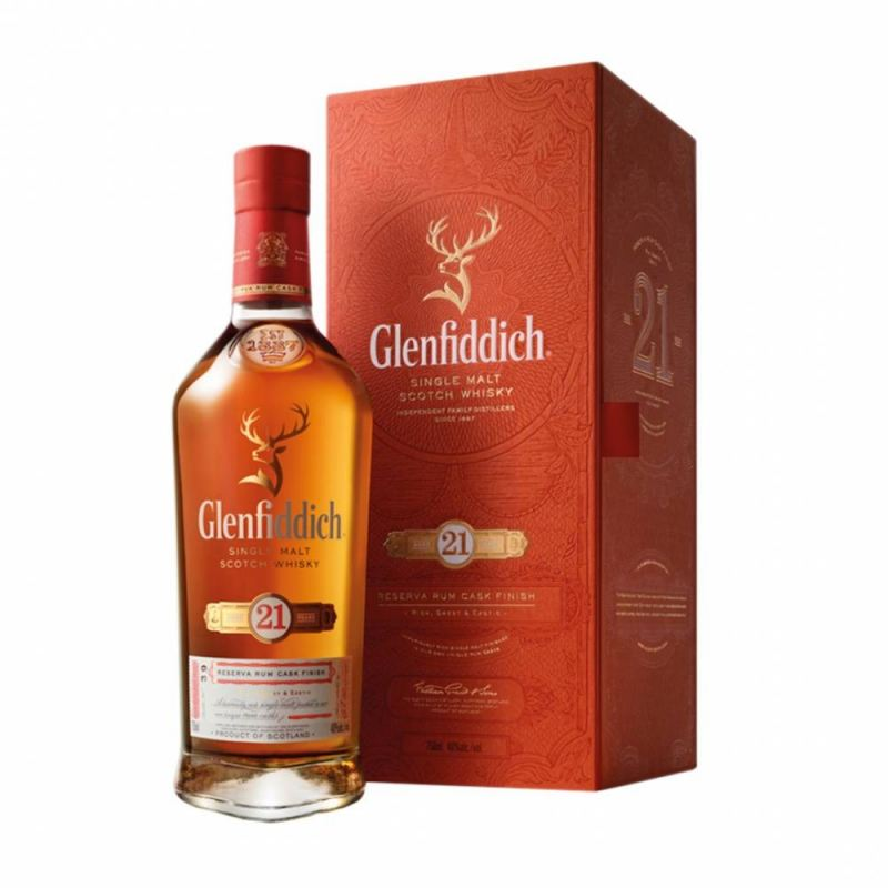 Glenfiddich '21 Years Old' Single Malt Scotch Whisky
